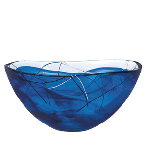 Contrast Bowl L Blue