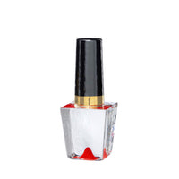 Make Up Nail Polish Red