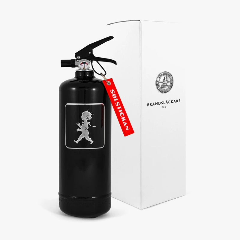 Fire Extinguisher 2kg Black / Black