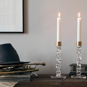 Carat Brass Candle Holders 2 pcs