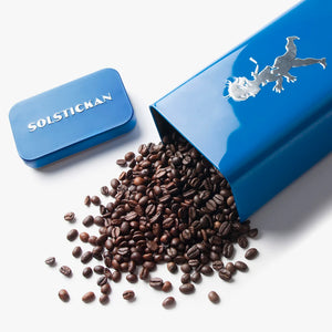 Coffee can Blue