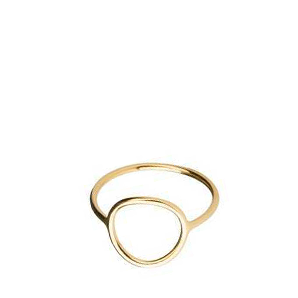 Monocle Ring Gold