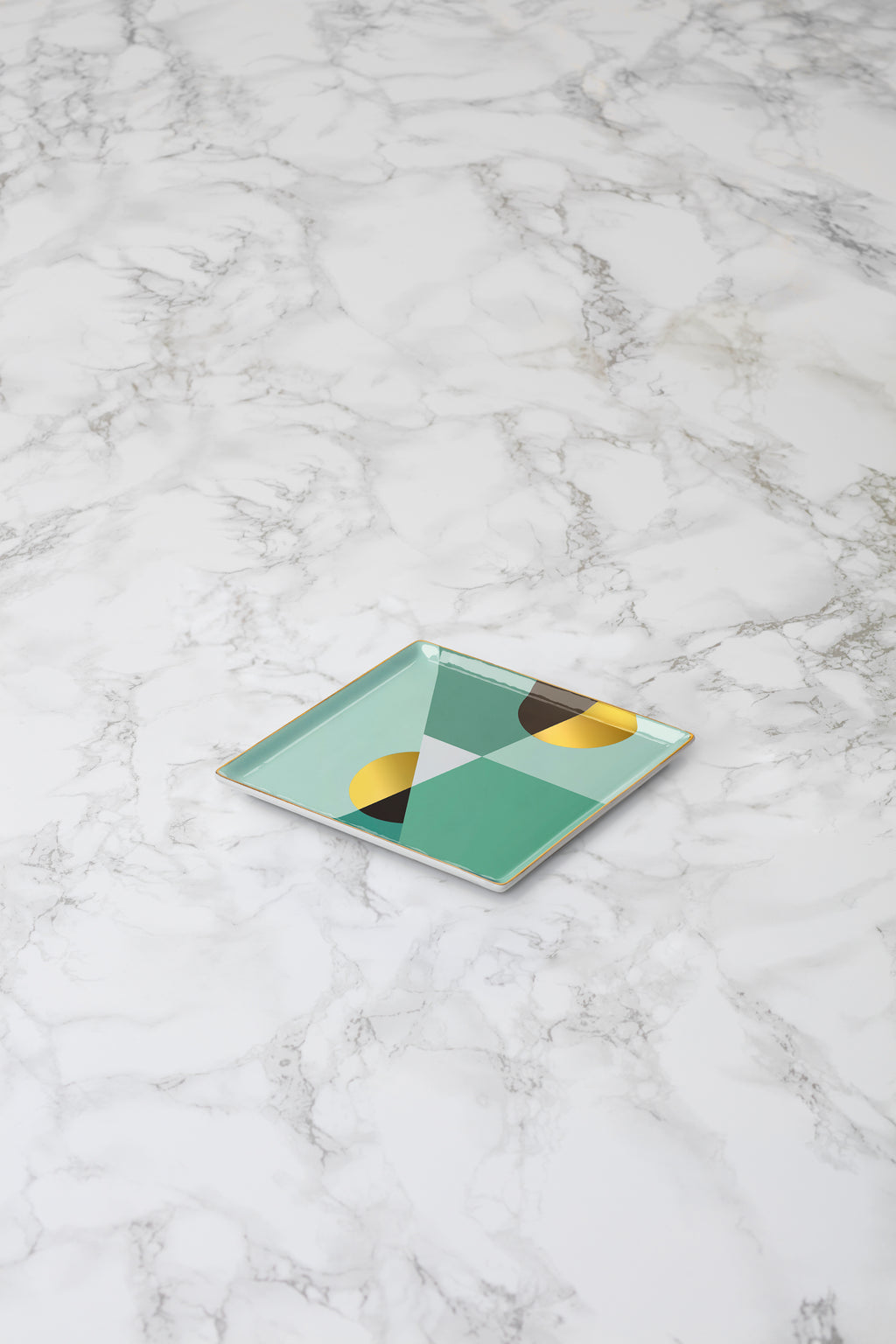 Siena Ceramic Tray Mint