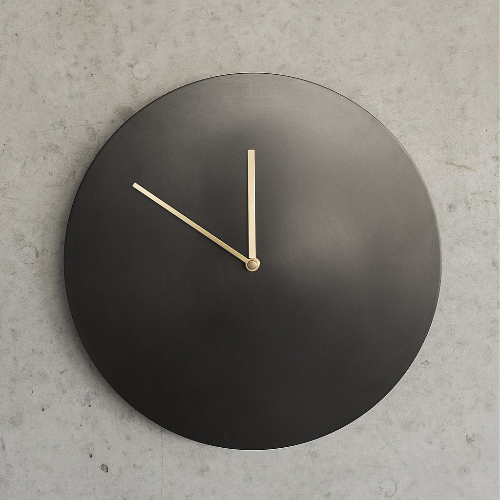 Bronzed Wall Clock