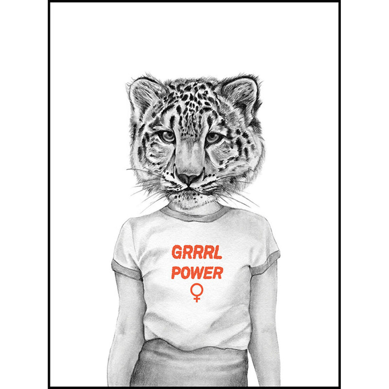Grrrl Power A4