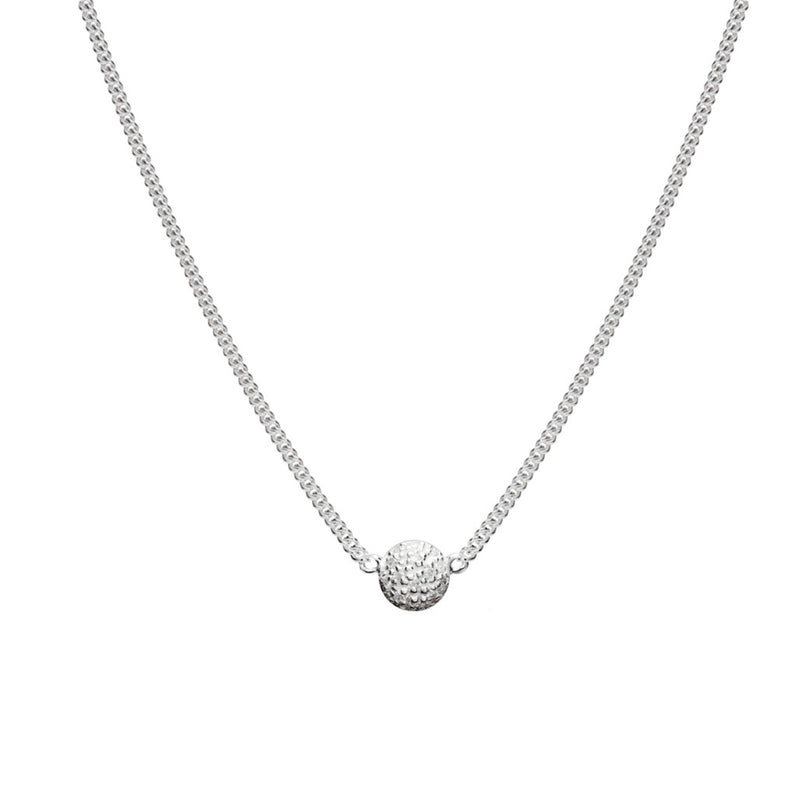 Mini Sphere Diamond Necklace
