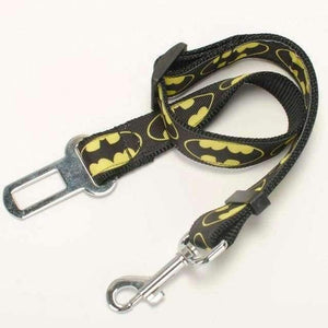 Rubio Rules | Batman Car Safety Seatbelt Leash | Dog Supplies