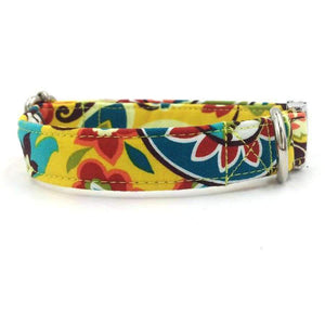 Rubio Rules | Yellow Collar Summer Flowers | Dog Supplies
