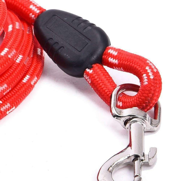 Soft Leash for dogs - Red