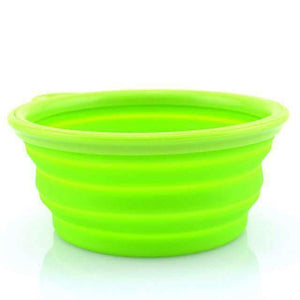 Collapsible Portable Bowl - Green