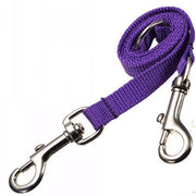 Double Leash Extension For Two Dogs - Purple