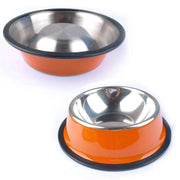 Colorful Stainless Steel Bowl for Dogs
