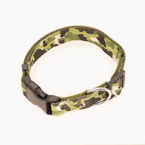 Camouflage Collar - Green / S