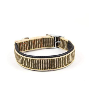Rubio Rules | Beige Woven Collar | Dog Supplies