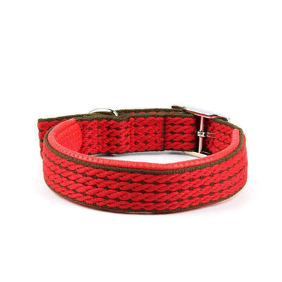 Rubio Rules | Red Woven Collar | Dog Supplies