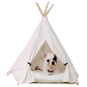 Rubio Rules | White Teepee Bed | Dog Supplies