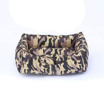 Camouflage Bed - Coffee / L
