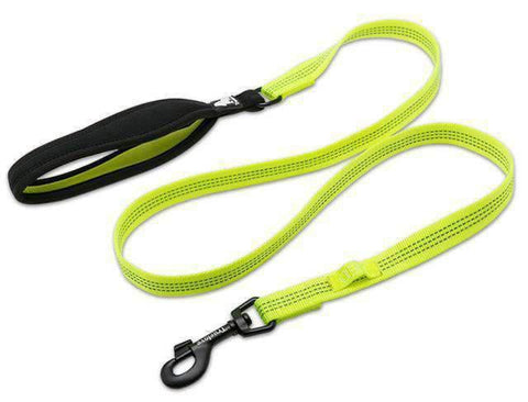 Truelove Reflective Leash With Soft Handle - Neon Yellow / L
