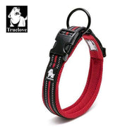 Truelove Reflective Mesh Collar - Red / L
