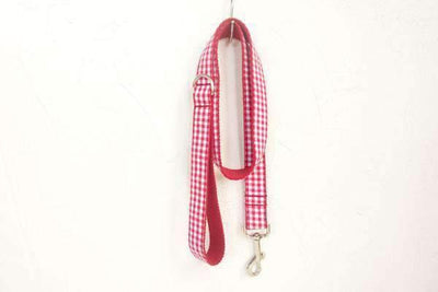 Rubio Rules | Red Checkered Leash | Dog Supplies