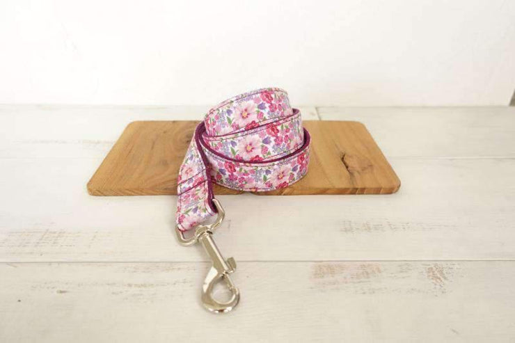 Pink Flowers Leash