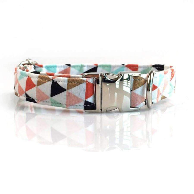 Triangles Collar with Bow