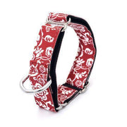 Rubio Rules | Collar Flower Power Red & White | Dog Supplies