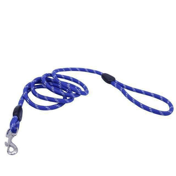 Soft Leash for dogs - Blue