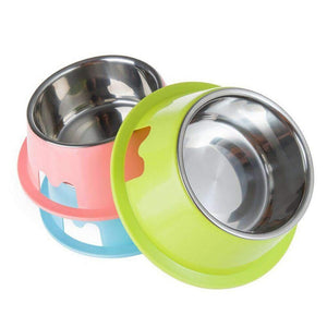 Rubio Rules | Small Stainless Steel Bowls | Dog Supplies