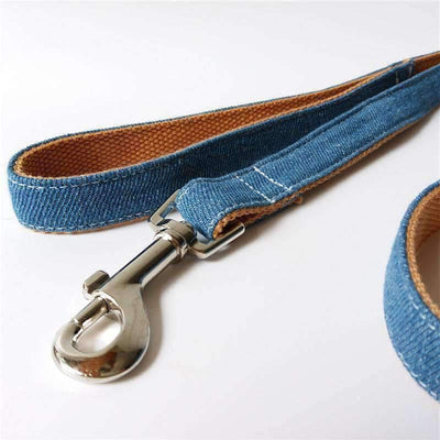 Blue Denim Leash