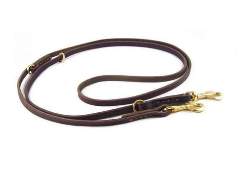 Hands-Free Leather Leash