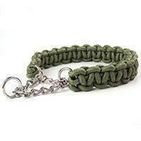 Metal With Braided Nylon Collar - Green