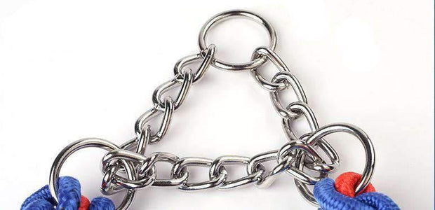 Metal With Braided Nylon Collar