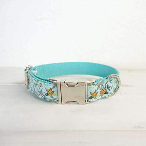 Rubio Rules | Blue Floral Collar | Dog Supplies