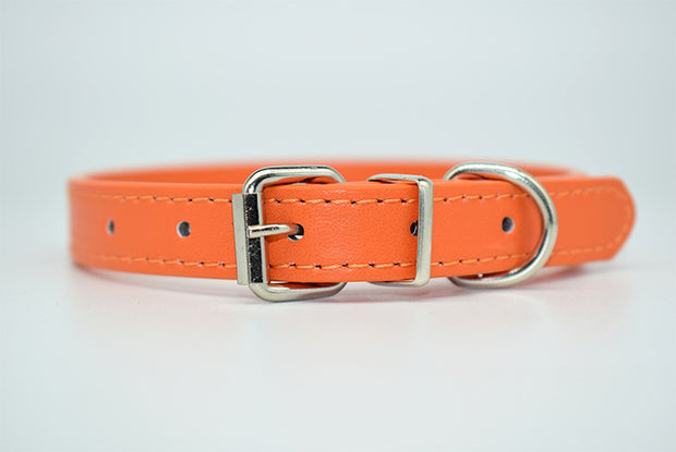 Colorful Leather Collar