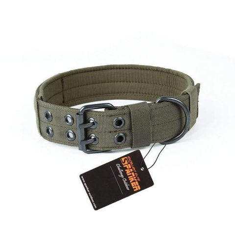 Spanker Camouflage Collar - Green / M