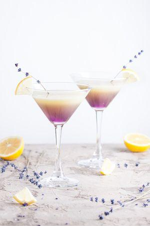 Recipe Idea - Lavender Fizz Cocktail