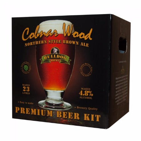 Bulldog Beer Kit - Cobnar Wood Brown Ale