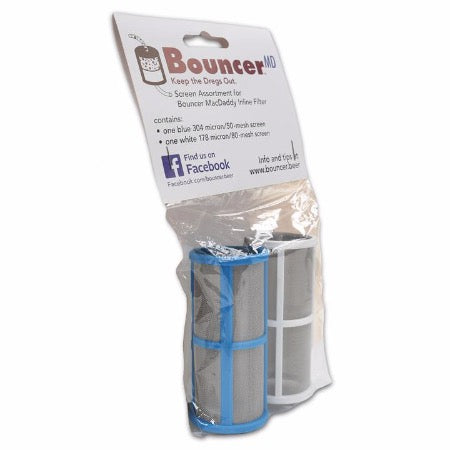 Bouncer MacDaddy Beer Filter Mesh - Twin Pack