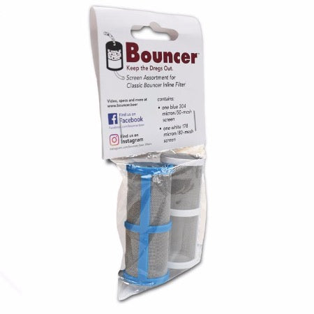 Bouncer Classic Beer Filter Mesh - Twin Pack