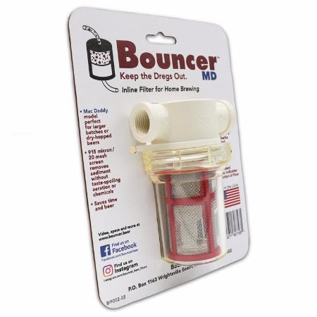 Bouncer MacDaddy Beer Filter