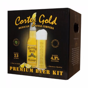 Bulldog Beer Kit - Cortez Gold Mexican Cerveza