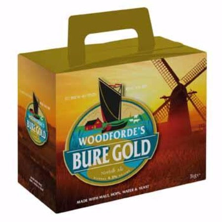 Woodfordes Beer Kit- Bure Gold