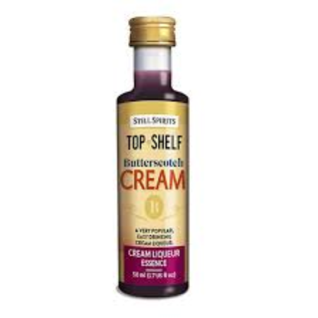 Top Shelf Cream Liqueur - Butterscotch Cream