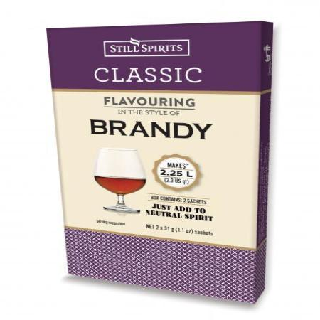 Classic Still Spirits Essence - Brandy (Makes 2 x 1.125L)