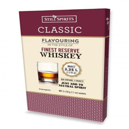 Classic Still Spirits Essence - Finest Reserve Whiskey (Makes 2 x 1.125L)