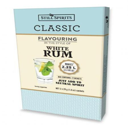 Classic Still Spirits Essence - White Rum (Makes 2 x 1.125L)