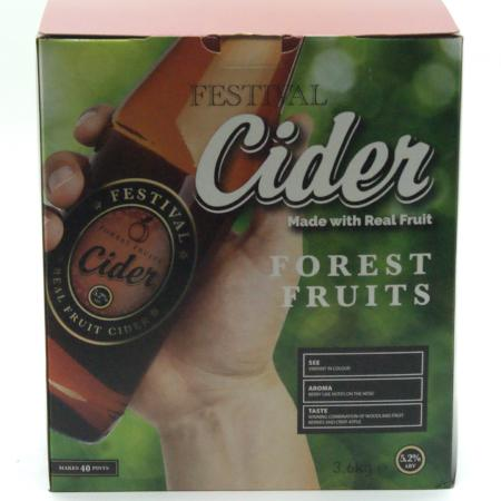 Festival Cider Kit - Forest Fruit