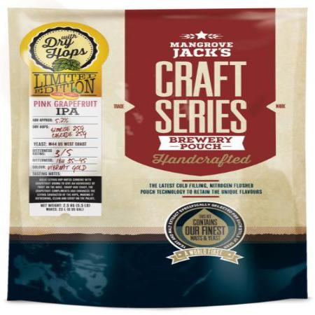 Mangrove Jacks Craft Series Beer Kit - Pink Grapefruit IPA