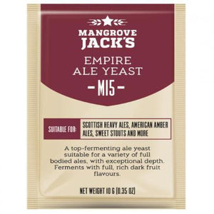 Mangrove Jacks Beer Yeast - Empire Ale M15